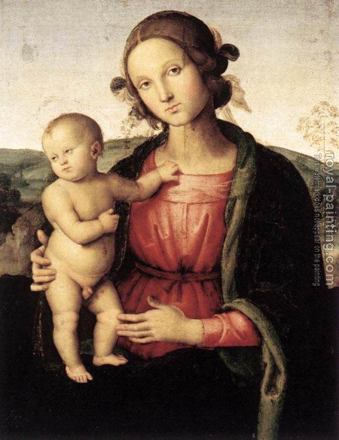 Pietro Perugino : Madonna and Child II